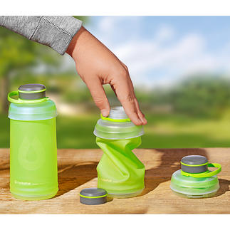 Foldable Water Bottle Collapsible water bottle – ideal for hiking, camping, travelling ...
