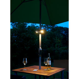 Bluetooth Parasol Lamp Wireless: Light and your favourite music from your parasol.