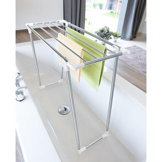 Space Saving Drying Rack With only a depth of 39cm (15.4″), it is also ideal for small rooms and narrow balconies.