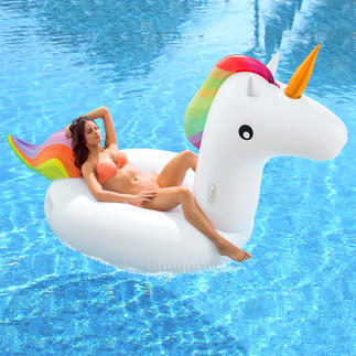 Inflatable Unicorn The must-have in the USA and now finally here: The inflatable XXL unicorn.