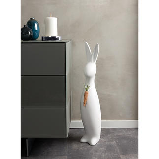"Stylish Easter Bunny ""Kelinciˮ Generously sized, stylish and striking – with modern glitter embellishment."