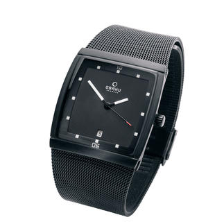 Obaku Square Watch Slim and elegant instead of large and flashy. Timeless Danish design. Clearly legible dial. Pleasant price.