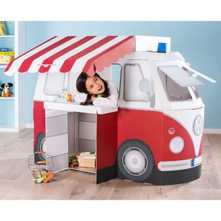 Kampini Play & Learn Camper Van A dream for all children over 3: The VW camper van to play or sleep in, to use for camping ...
