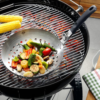 Grill Wok Delicacies from the grill wok: The easy way to barbecue vegetables.