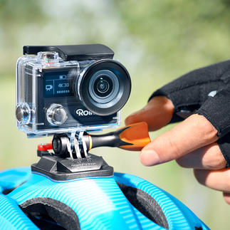 Rollei Action Cam 430 The latest generation: Razor sharp action videos of your most spectacular adventures. Even while diving.