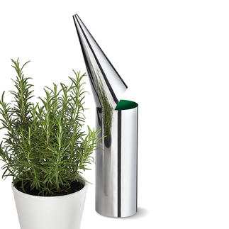 Philippi Watering Pot Minimalistically designed watering pot: Modern sculpture and useful utensil.