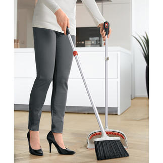 Extendable Sweep Back-friendly sweeping, without bending down – thanks to the telescopic handle.
