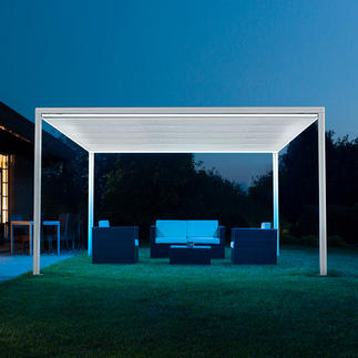 Freestanding Gazebo Up to 16m² (!) of shade – quickly and easily with the press of a button.