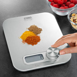 Kitchen Scales Kinetic-Energy Probably the first digital kitchen scales without battery.
