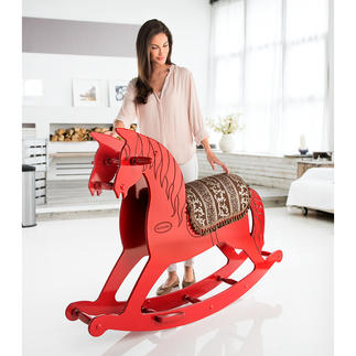 XL Rocking Horse A dream from childhood days: A rocking horse – now in XL size.