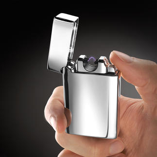 Arc Lighter The lighter with an arc instead of a flame. No lighter gas or fuel. No heat near your hand.