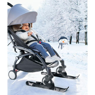Pushchair Skis Easy gliding instead of heavy pushing.