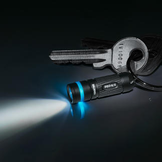 Micro-LED Flashlight, 2-piece Set Even smaller and lighter than an AAA battery. With an illumination range of up to 15m (49ft).