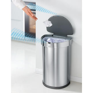 Sensor Bin ST2009 Precise multi-sensor control opens and closes the elegant waste collector exactly as required.