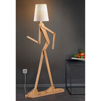 Floor Lamp Human A movable light sculpture with an endless variety of gestures.