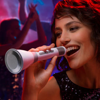Bluetooth Karaoke Microphone Complete karaoke facility in your hand.