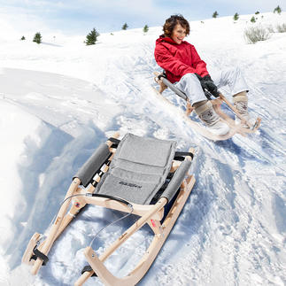 Kathrein Touring Sports Toboggan Quality toboggan Austria seal of quality.
