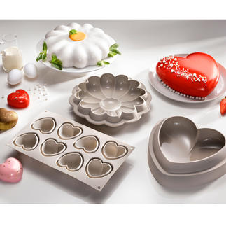 Silikomart Baking Moulds Make works of art with an eye-catching look.