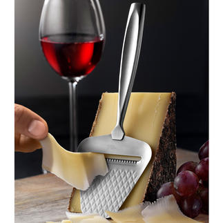 Boska Cheese Slicer Monaco+ Glides even more easily. Fine slices of any firm cheese. And nothing sticks.