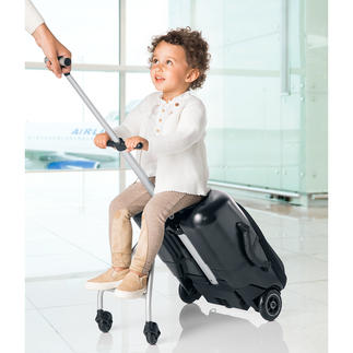 Micro Lazy Luggage Sturdy hard shell trolley for short trips. Also doubles up as a stylish kid's buggy.