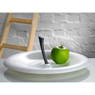 "Koziol Fruit Bowl ""Big Apple"" Elegant, curved design."