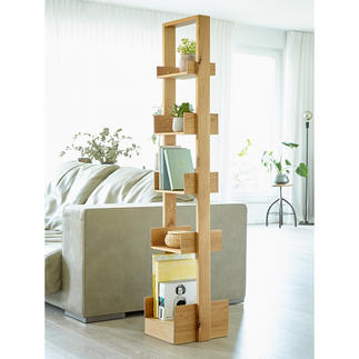 "wireworks Design Bookcase ""Bookie"" Versatile bookcase made of trendy oak."