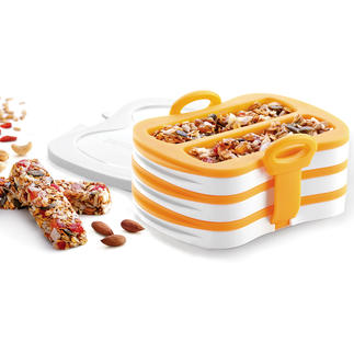 Muesli Bar Mould With these silicone moulds, you are able to achieve a perfect muesli bar.