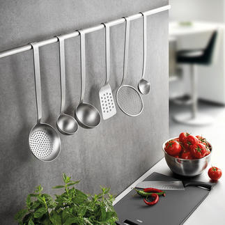 Gefu Kitchen Utensils BASELINE Made of solid, seamless stainless steel. A purchase for life.