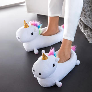 """Unicorn"" Slippers Wonderful warmth and style for your feet."