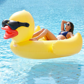 Inflatable XXL Duck Trendy, cool and comfortable: The XXL inflatable duck.