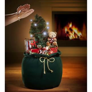 Christmas Sack A Christmas decoration that will delight your eyes as well as your ears.