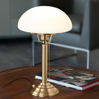 Berlin Brass Mushroom Lamp A classic from the early days of electricity.