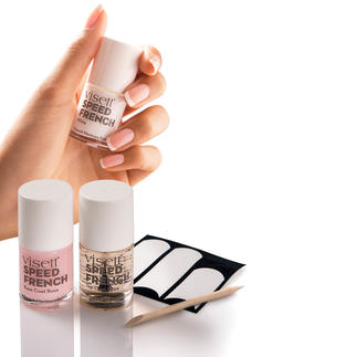 visett® Speed French Manicure Kit The perfect French manicure in just 10 minutes.
