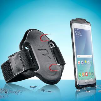 "Smartphone Sports Strap ""magnetic"" Text messages, calls, or changing music – nothing will stop your run."