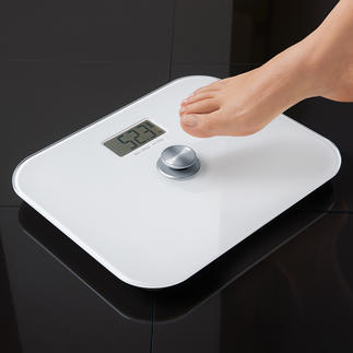 Digital Bathroom Scale without battery Saves money and bothersome battery replacement. Environmentally friendly.