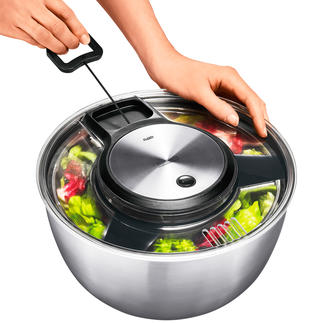 Gefu® Salad Spinner This award-winning salad spinner is a long-lasting quality product.