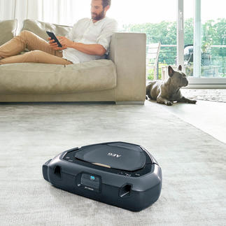 AEG RX9 3D Vision Robot Vacuum Cleaner Even cleans niches and corners perfectly. Navigates with advanced 3D-Vision™ technology.