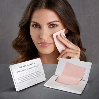 Wonderstripes® Blotting Film, 30 sheets The quick facial skin refresher for on the go.