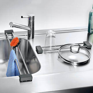 drip.line A multifunctional drainer and storage solution for the sink.