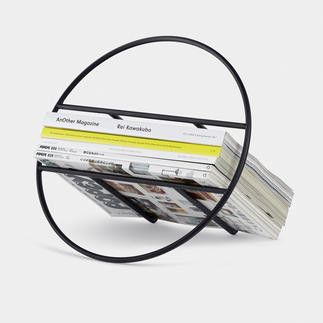 Design Newspaper/Record Rack Minimalist design turns your magazines and LPs into stylish eye-catchers.