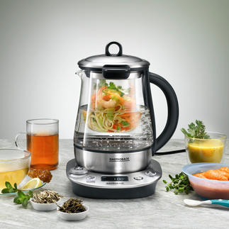 Gastroback 3-in-1 Kettle Advanced Tea maker and water bath in one.