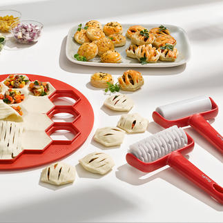 Baking Set Mini Pies, 3-piece Set Mini pies with various fillings – quicker and easier than ever before.