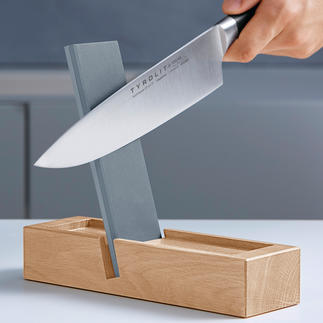 TYROLIT Premium Knife Sharpener Sharpen knives like the pros – gentle on blades, safe and fast.