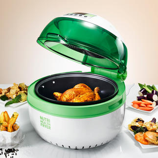 Health Fryer XL Low-fat and low-calorie frying, baking, roasting, sautéing, cooking and grilling.