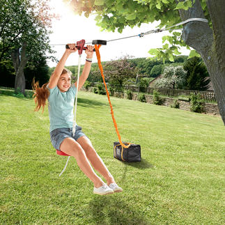 30 Metre (98ft) Zipwire Outdoor adventure in your own garden.