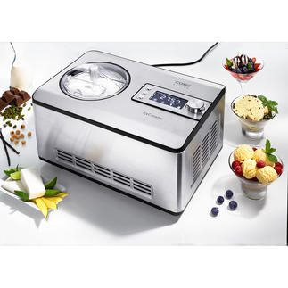 2 Litre Compressor Ice Cream Maker IceCreamer The compressor run ice cream maker with the same cooling features as larger commercial appliances.