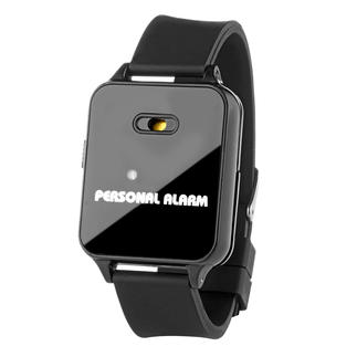 120dB Alarm Bracelet A 120dBA loud siren chases away assailants and alerts helpers.