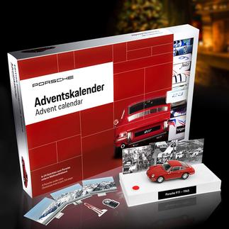 Advent Calendar Kit Porsche 911 It will bring you closer to your dream car in 24 steps. A daily pleasure.