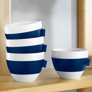 Thermo Cup, Set of 4 Drinks stay hot for longer – and no danger to the fingers.