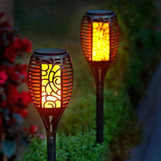 Flame Effect Torch Deceptively realistic, living flames – without fire, smell or smoke.